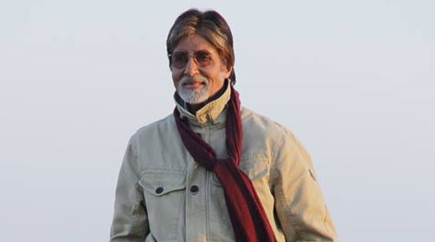 Amitabh Bachchan in search for the elusive Black Buck