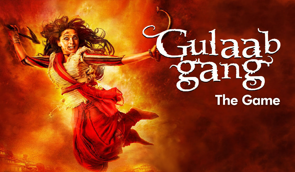 'Gulaab Gang' launches its mobile game