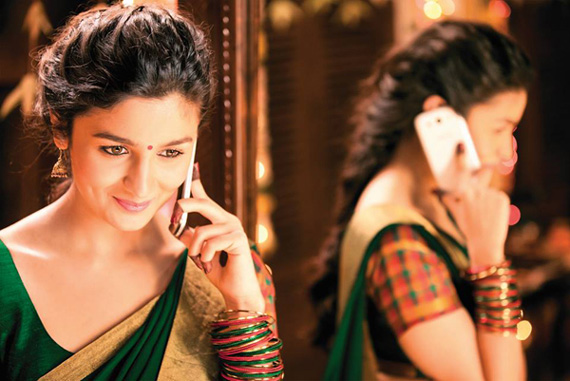 It's Indian fusion look for Alia Bhatt in '2 States'