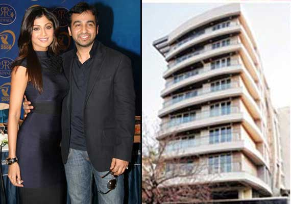 Fire at Shilpa Shetty and Raj Kundra's Juhu house