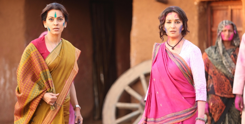 """Gulaab Gang might just be the best performance of their career for both Madhuri Dixit and Juhi Chawla"""