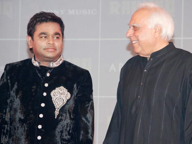 A.R. Rahman - Kapil Sibal's 'Aa Bhi Jaa' launching in 4K video version