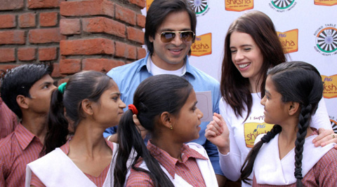 When Kalki Koechlin & Vivek Oberoi turned teacher for a day