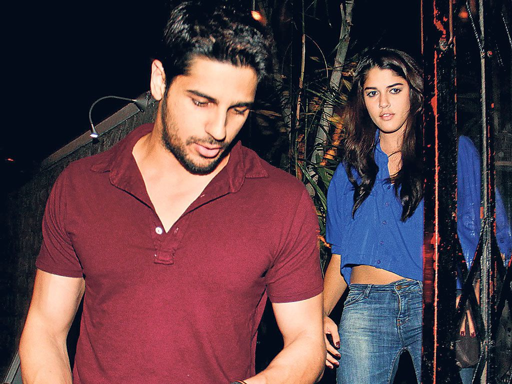 Who is the new girl in Sidharth Malhotra's life?