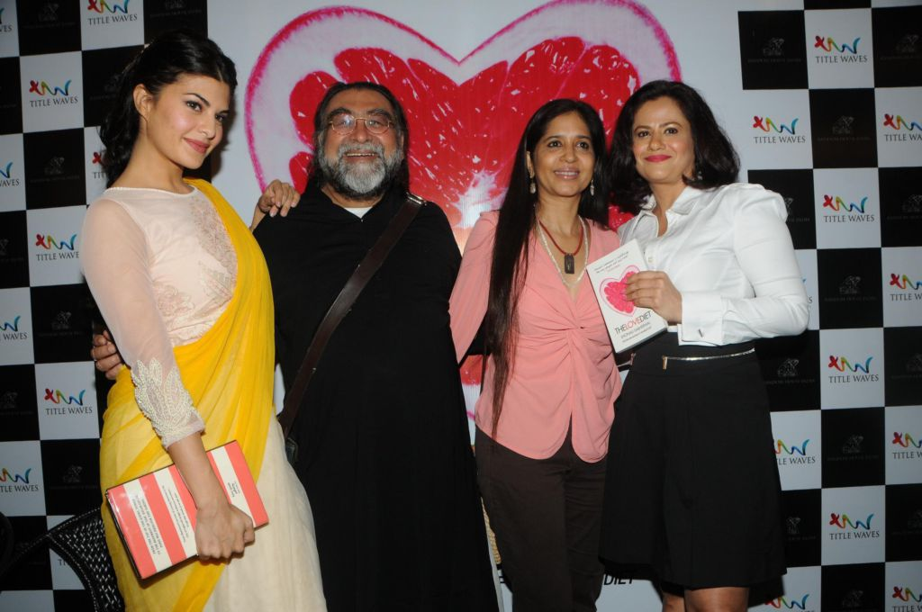 "Zoya Akhtar & Jacqueline Fernandez Unveil ""The Love Diet"" by Shonali Sabherwal"