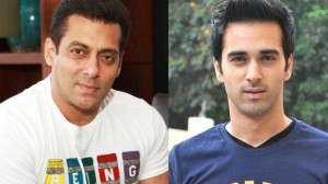 Pulkit Samrat and Salman Khan