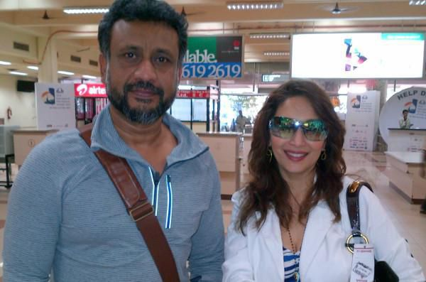 Shocker - Madhuri Dixit expelled from VIP lounge at Bhopal airport