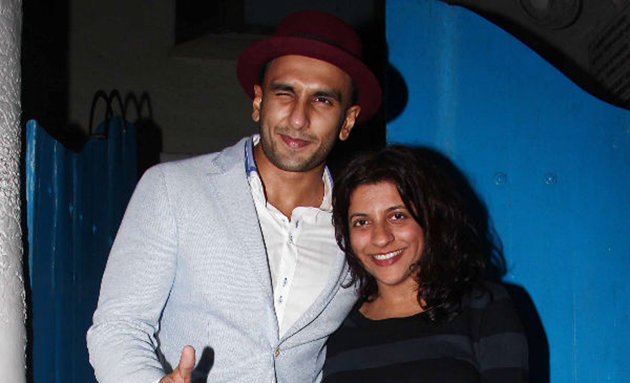 Ranveer Singh signs 'Exclusive Contract' with Zoya Akhtar
