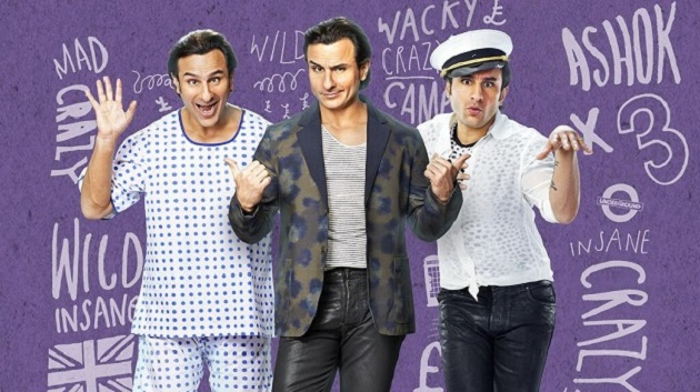 Saif Ali Khan experiments with Gujarati accent in 'Humshakals'