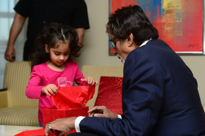 A special gift for Aaradhya Bachchan from a fan
