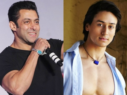 Tiger Shroff follows Salman Khan's footsteps
