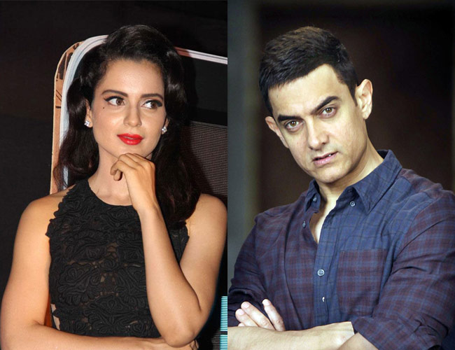 Kangana Ranuat: Working with Aamir Khan not my goal