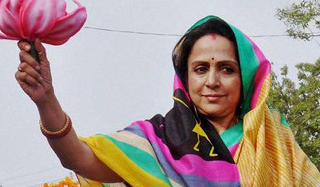 I'm not a star whiling away my time: Hema Malini on political journey