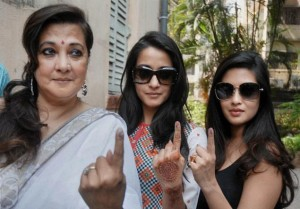 celebrities vote in Bengal