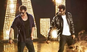 Prabhudeva and Ajay In Action Jackson