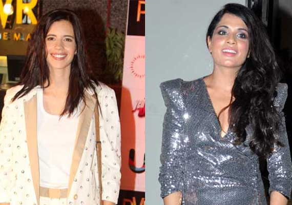 Richa Chadha teams with Kalki Koechlin for play