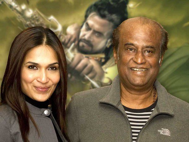 Rajinikanth tweets best wishes to daughter Soundarya