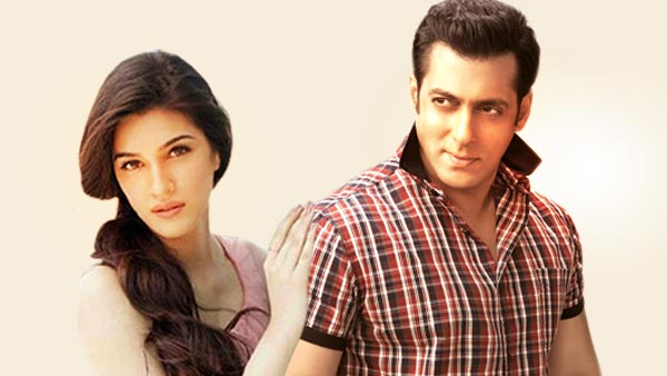 Salman Khan bowled over by Kriti Sanon