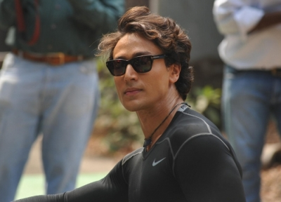 It's publicity: Tiger Shroff about jokes on himself