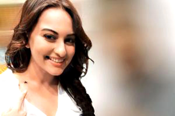 Sonakshi Sinha gets a 'Star Tattoo'