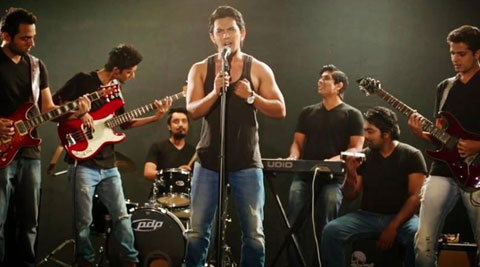 Aditya Narayan teams up with 20 artists for music video