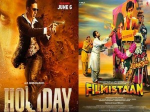 Filmistaan and Holiday