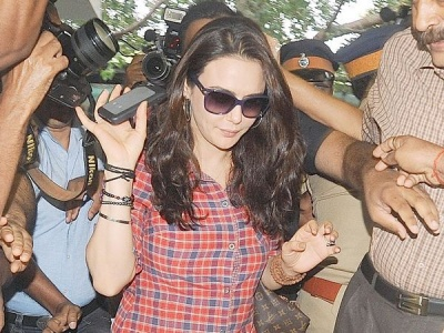 Preity Zinta  to record statement at Wankhede Stadium