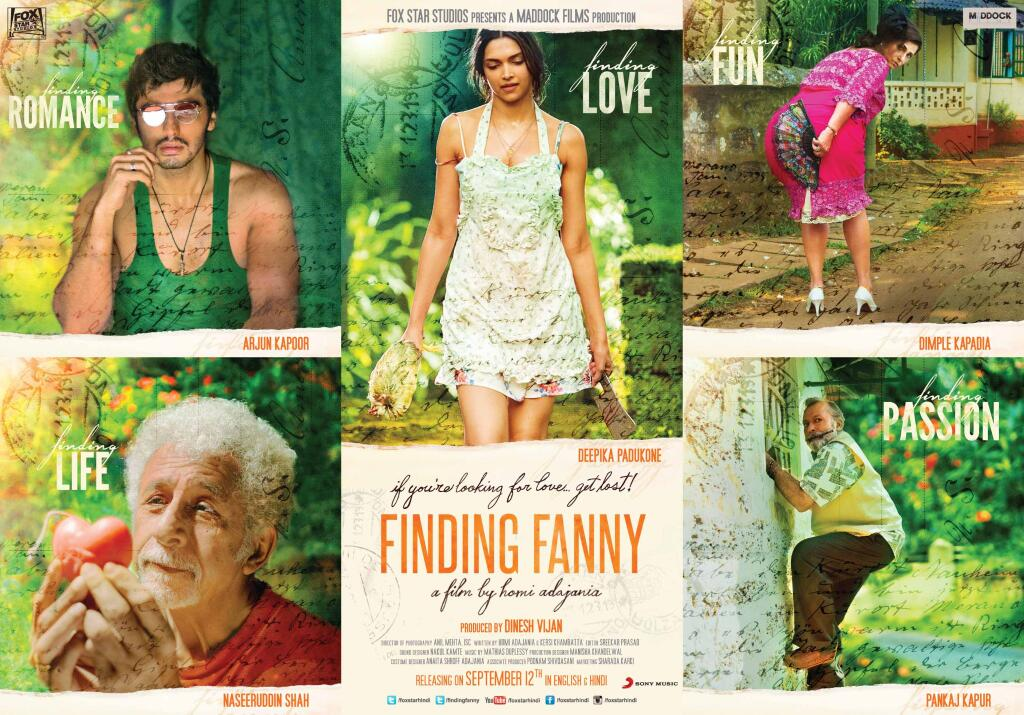 Check Out - new poster of 'Finding Fanny Fernadez'