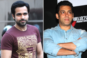Emraan Hashmi and Salman Khan