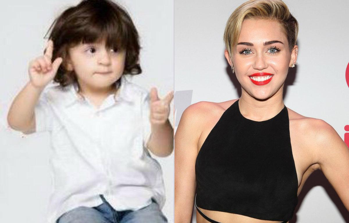 OMG - Shah Rukh Khan's son AbRam a Miley Cyrus fan
