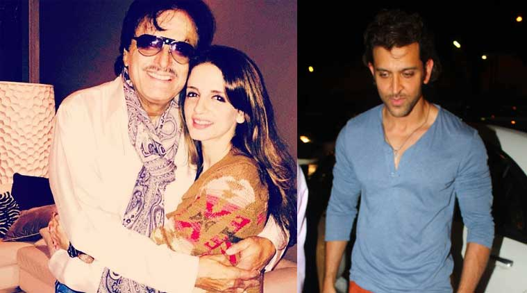 Sanjay Khan throws birthday bash for Hrithik Roshan