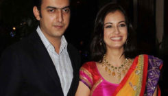 Dia Mirza on first visit to Hyderabad post-wedding