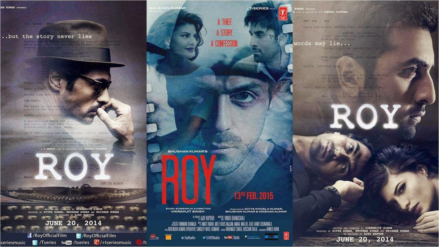 'Roy' movie review: Starring: Ranbir-Arjun-Jacqueline