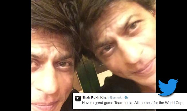 Shah Rukh Khan's special message to Indian cricket team