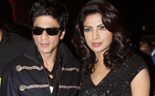 Priyanka Chopra with Shah Rukh Khan