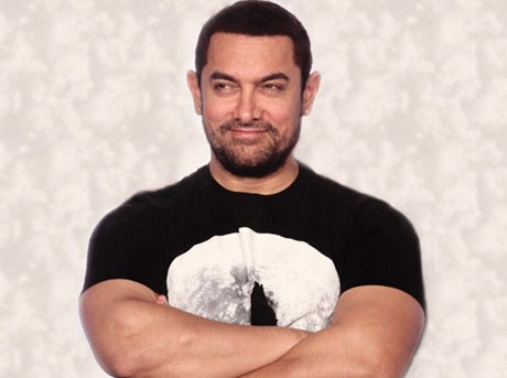 Why is Aamir Khan unhappy with his weight gain?