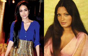 Jiah Khan and Parveen Babi