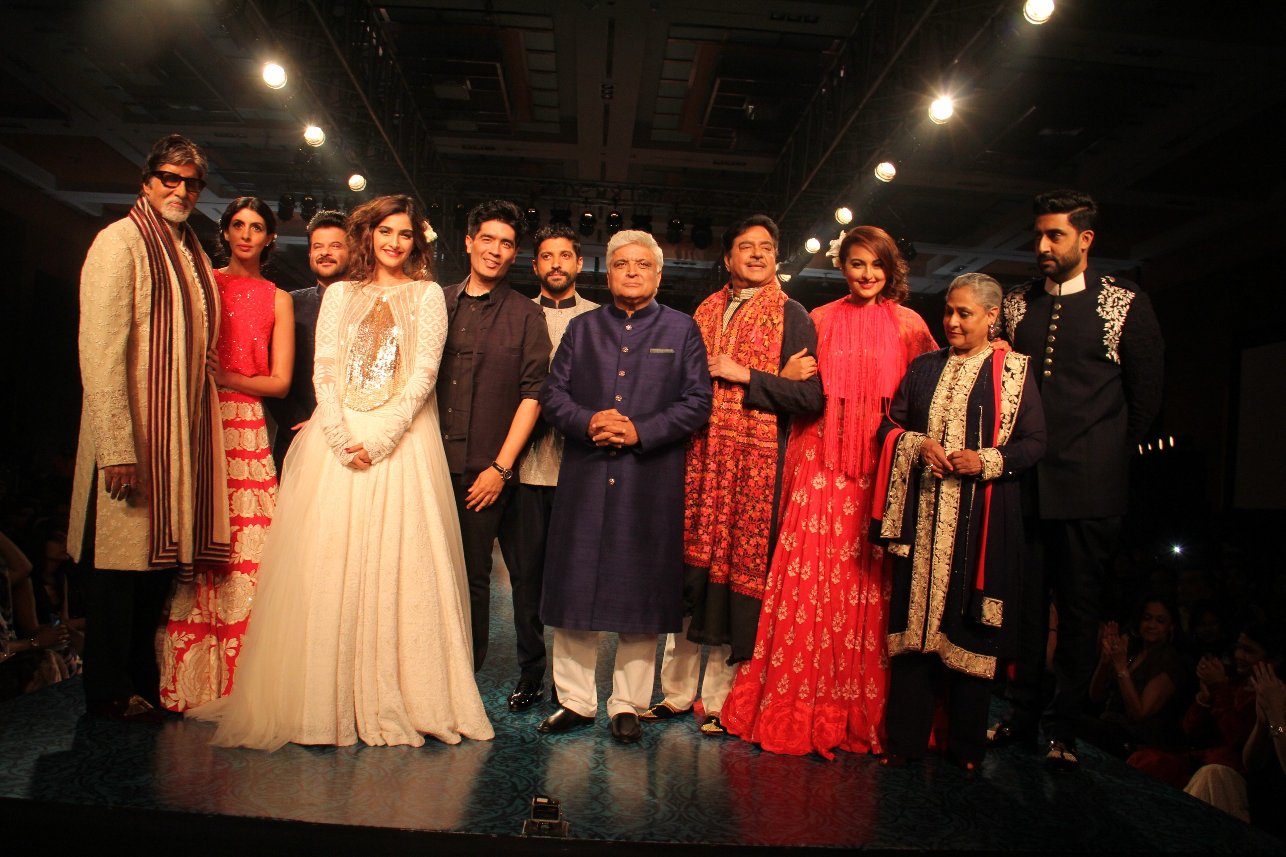 Bachchans, Sinhas, Kapoors catwalk for a cause