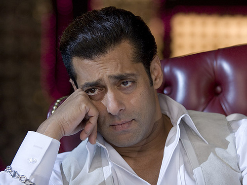 An 'FIR' against Salman Khan for 'Assault'