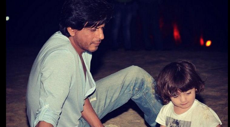 Watch: Shah Rukh Khan - AbRam's  Aww moment in Goa