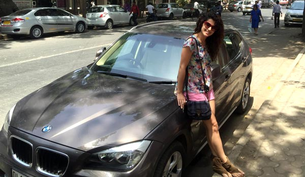 Taapsee Pannu gift's herself a BMW