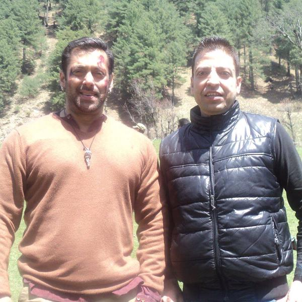 Exclusive Pictures - Salman Khan in Kashmir shooting for Bajrangi Bhaijaan