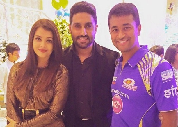 Inside Pictures : Aishwarya Rai & Abhishek Bachchan at Mumbai Indian's victory bash