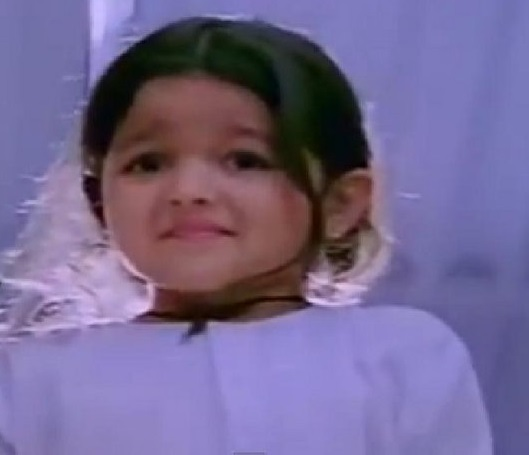 Alia Bhatt Childhood