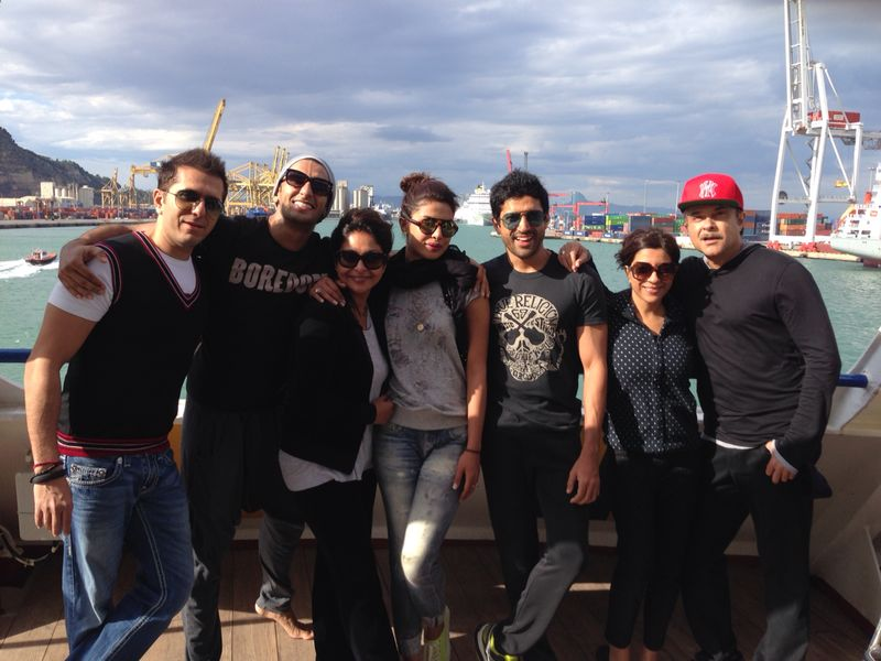 'Dil Dhadakne Do' team's special brunch plans