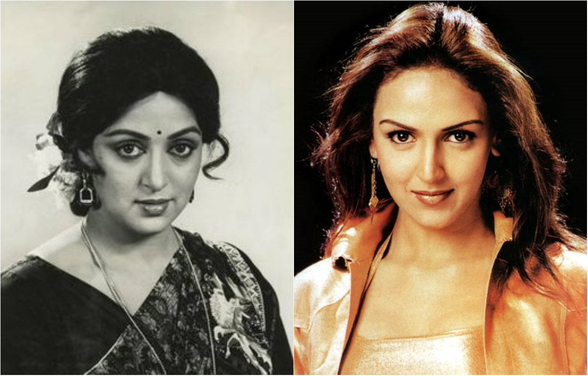 Hema Malini and Esha Deol