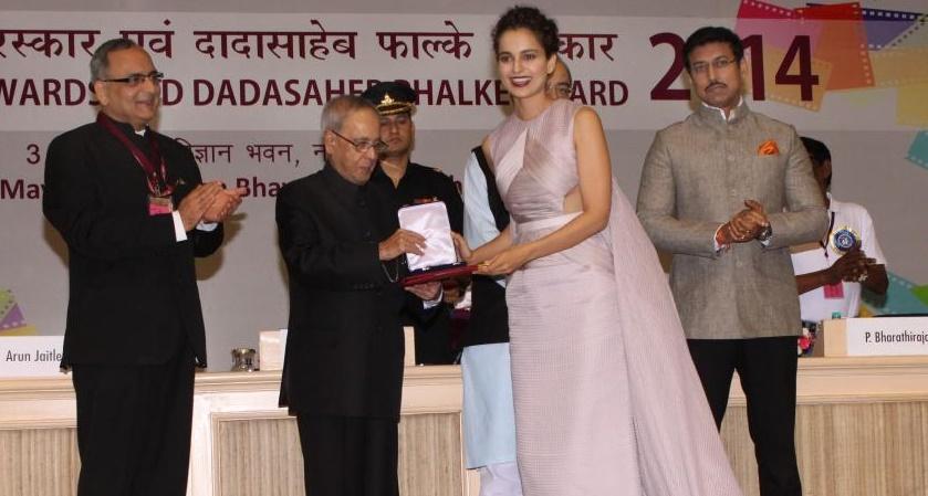 Kangana Ranaut: Wanted to look like a star at National awards