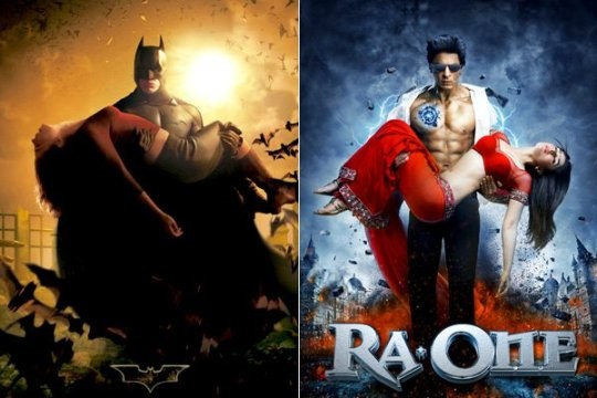18 Bollywood Movie Posters Copied From Hollywood.