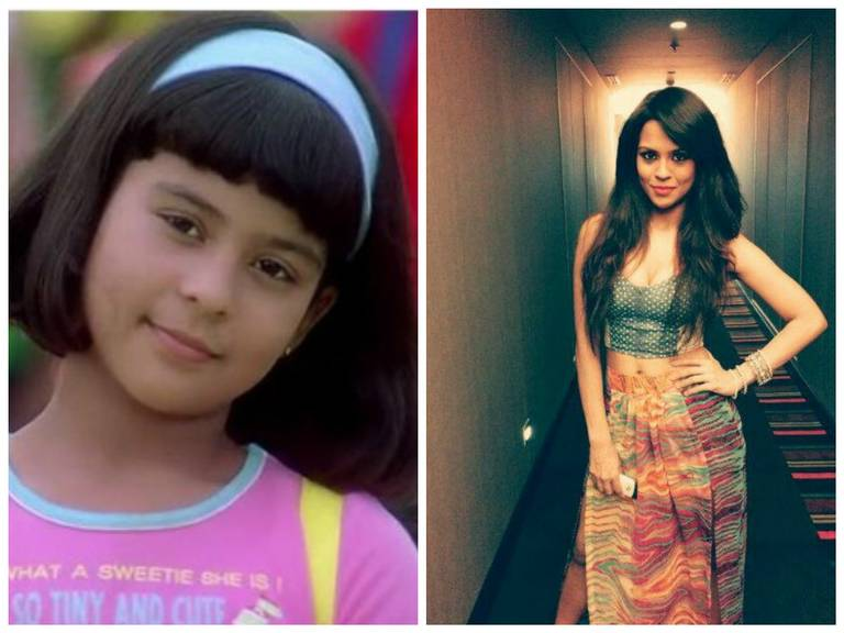Bollywood Child Artists - Then & Now