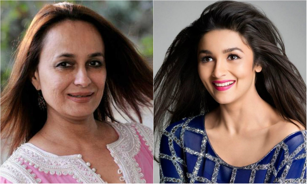 Soni Razdan and Alia Bhatt